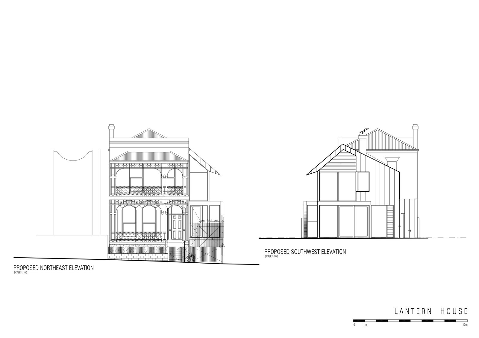 Lantern House elevations