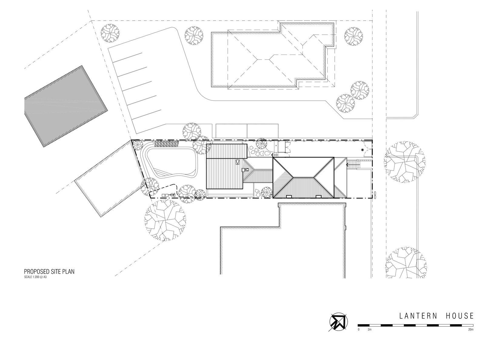Lantern House site plan