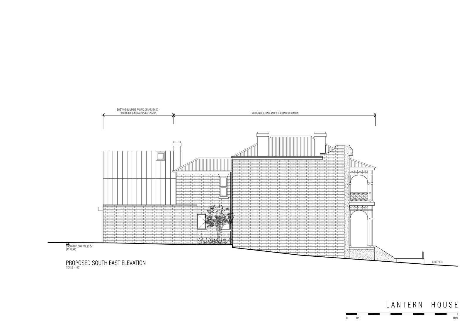 Lantern House elevation