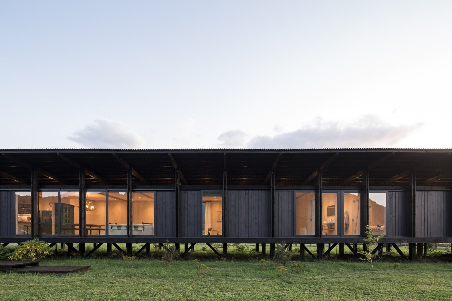 Budget Breakdown: This Modular Cabin in Chile Cost Just $51 Per Square Foot