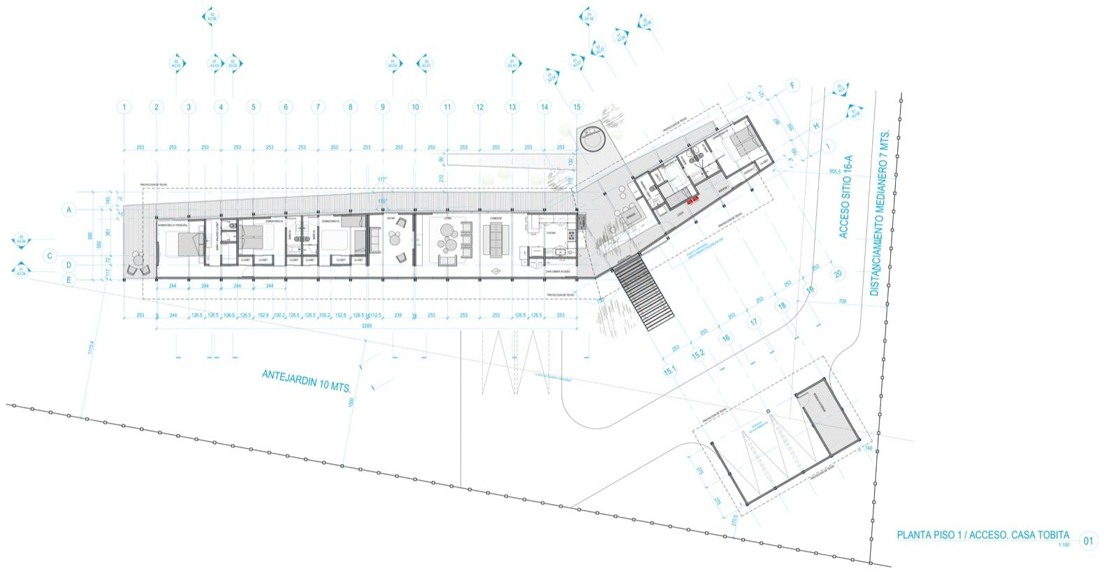Casa Tobita floor plan