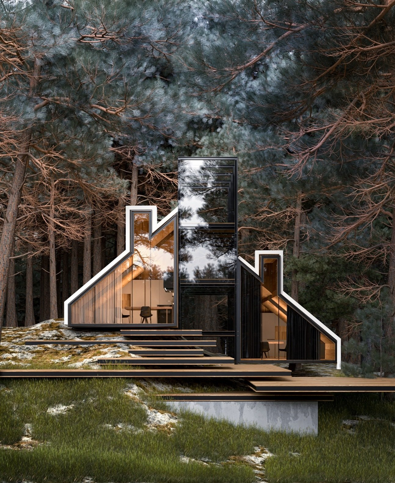 A Russian Architect's Ethereal Glass Houses Have Captivated the Internet