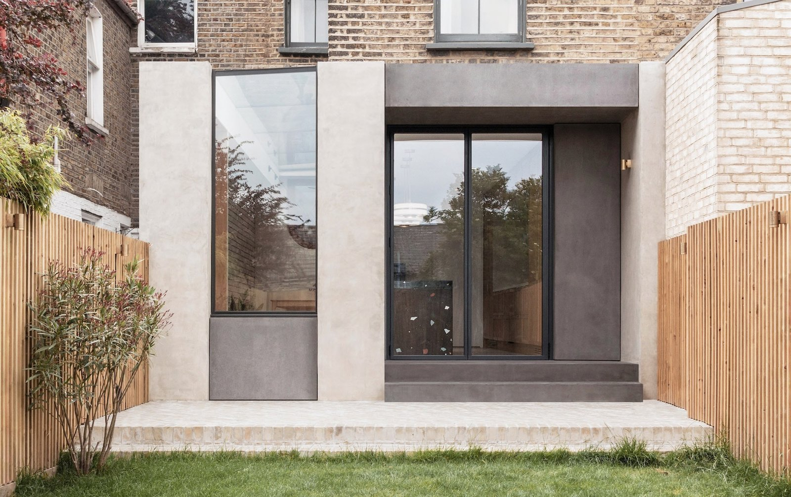 Glyn House by Yellow Cloud Studio exterior