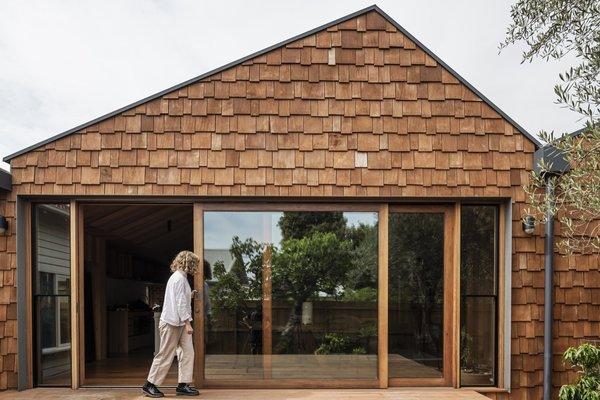 Best 60 Modern Exterior Metal Roof Material Gable Roofline Design Dwell