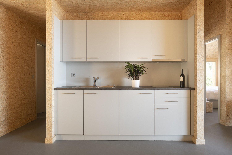 Whitepod Eco-Chalet kitchen