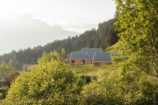 Three of the 21 chalets are finished, and an additional four chalets are slated to be completed by the end of 2020. The 14 remaining chalets are expected to be complete by the end of 2021.