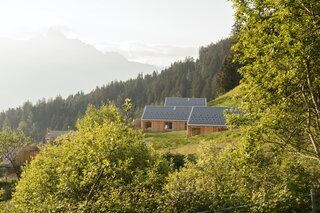 These Prefab Cabins Offer the Ultimate Eco Escape in the Heart of the Swiss Alps