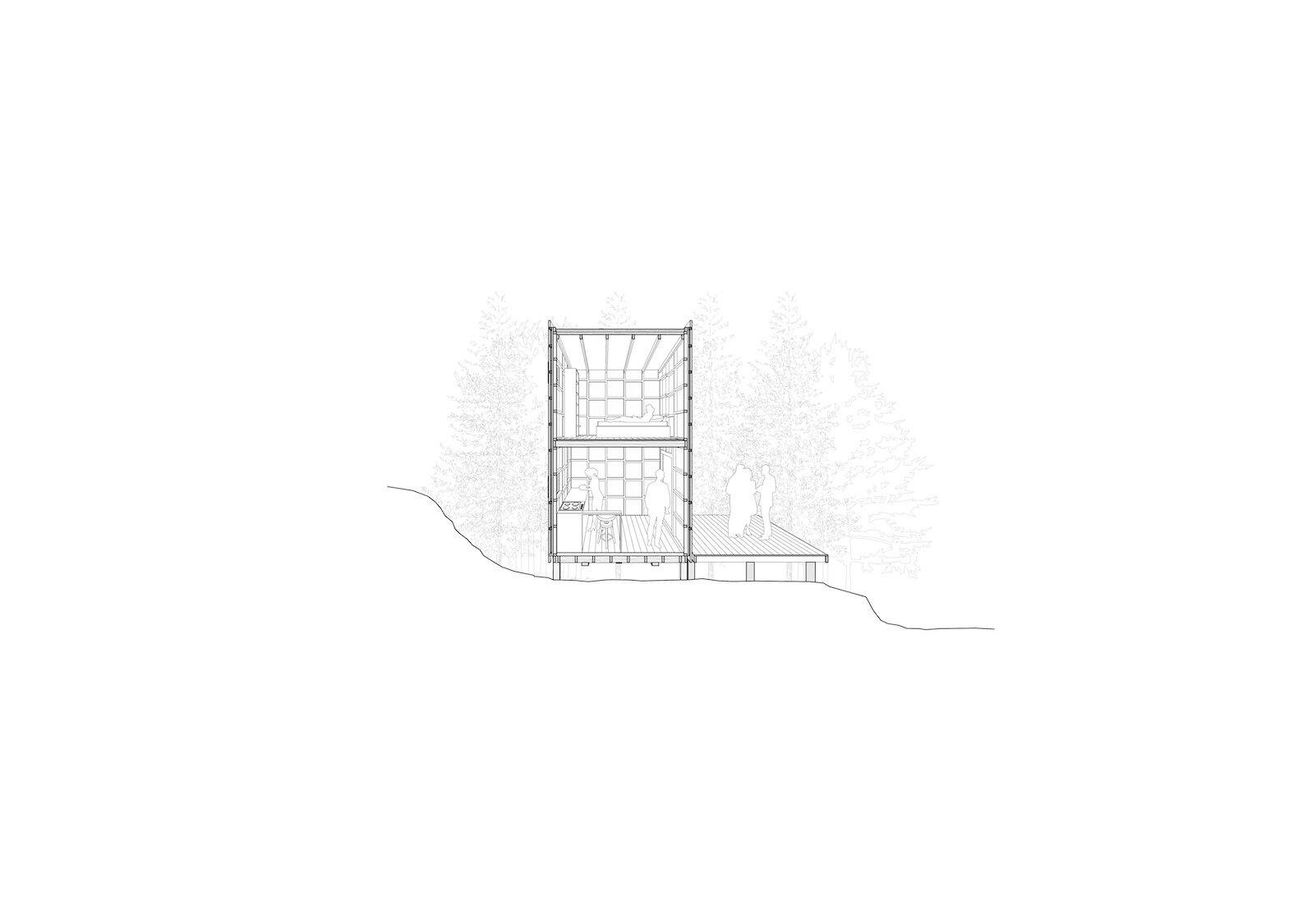 Refugio 3 x 3 section
