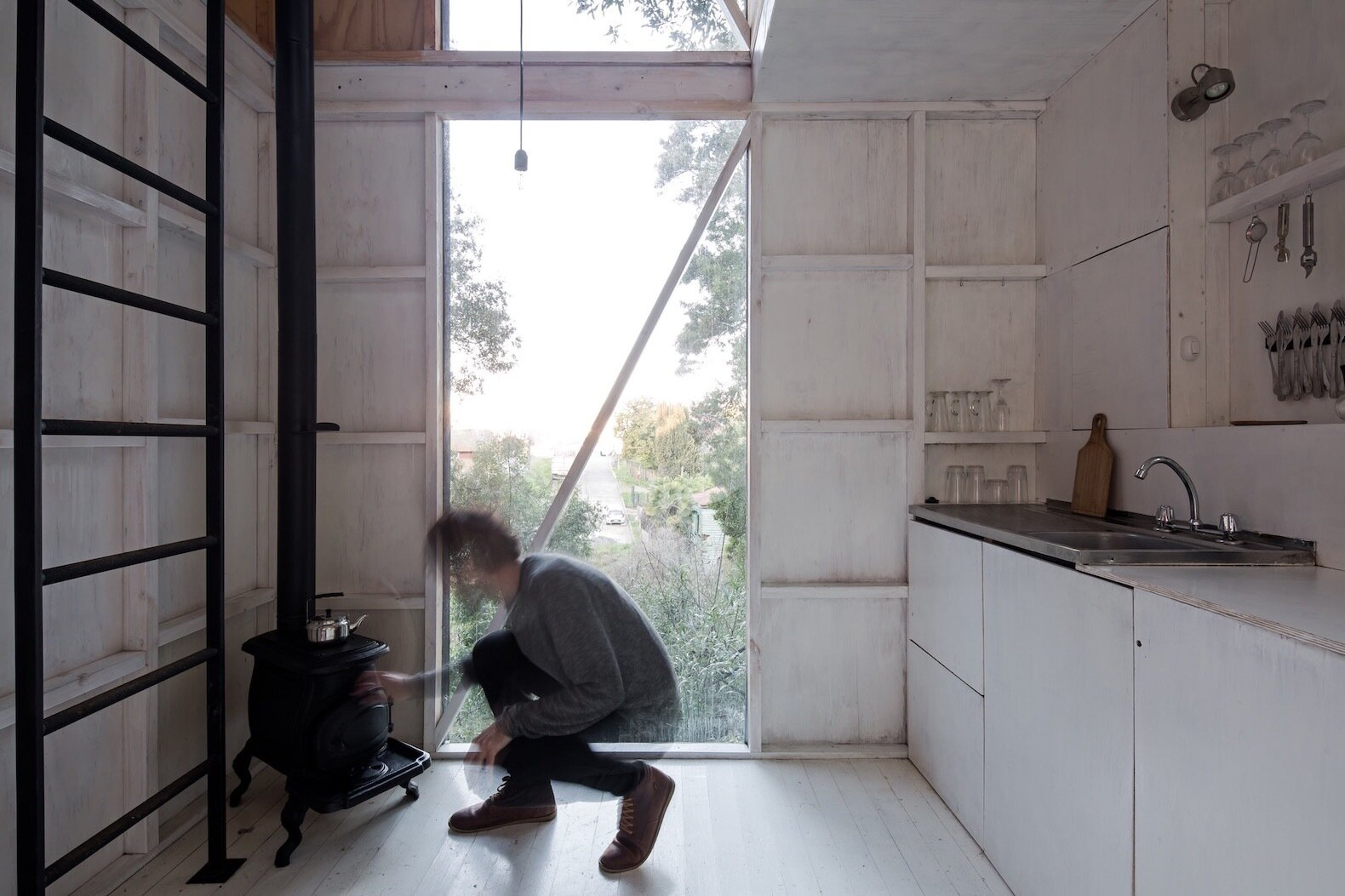 Refugio 3X3 kitchen