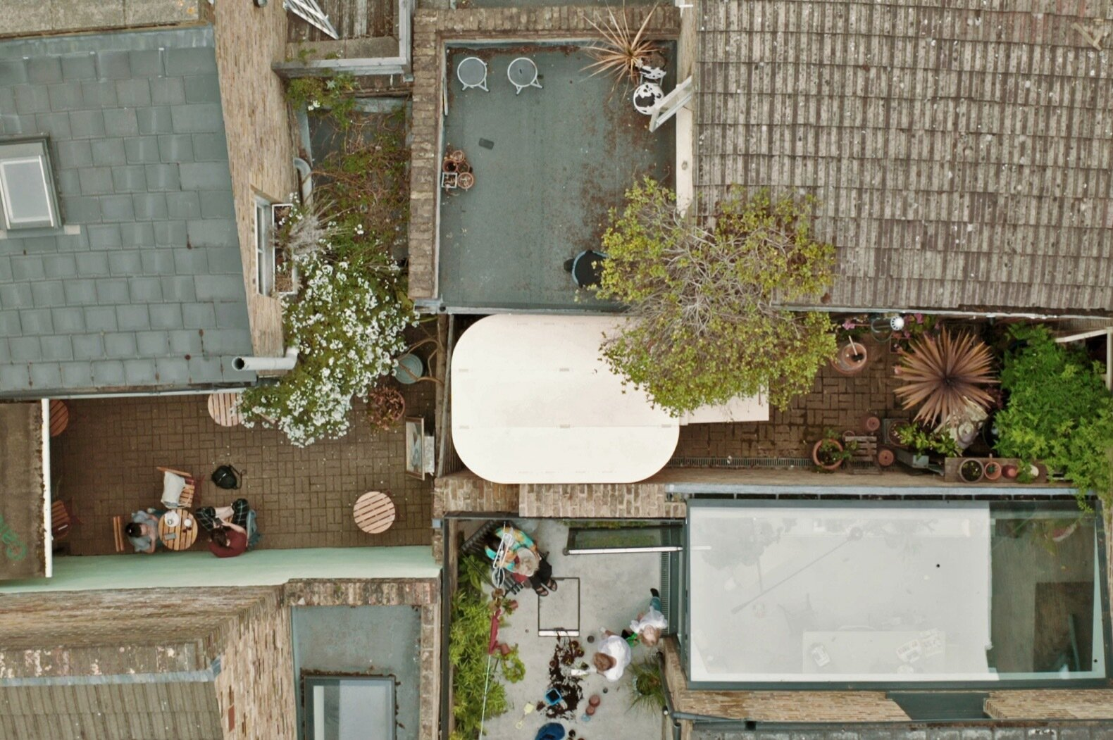 My Room in the Garden aerial view