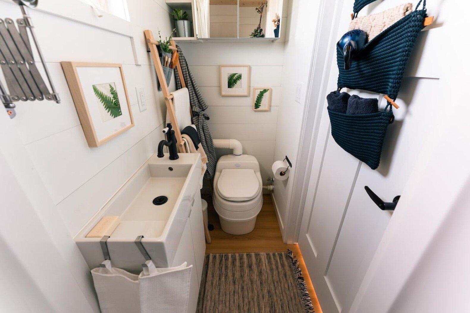 The IKEA Tiny Home Project bathroom