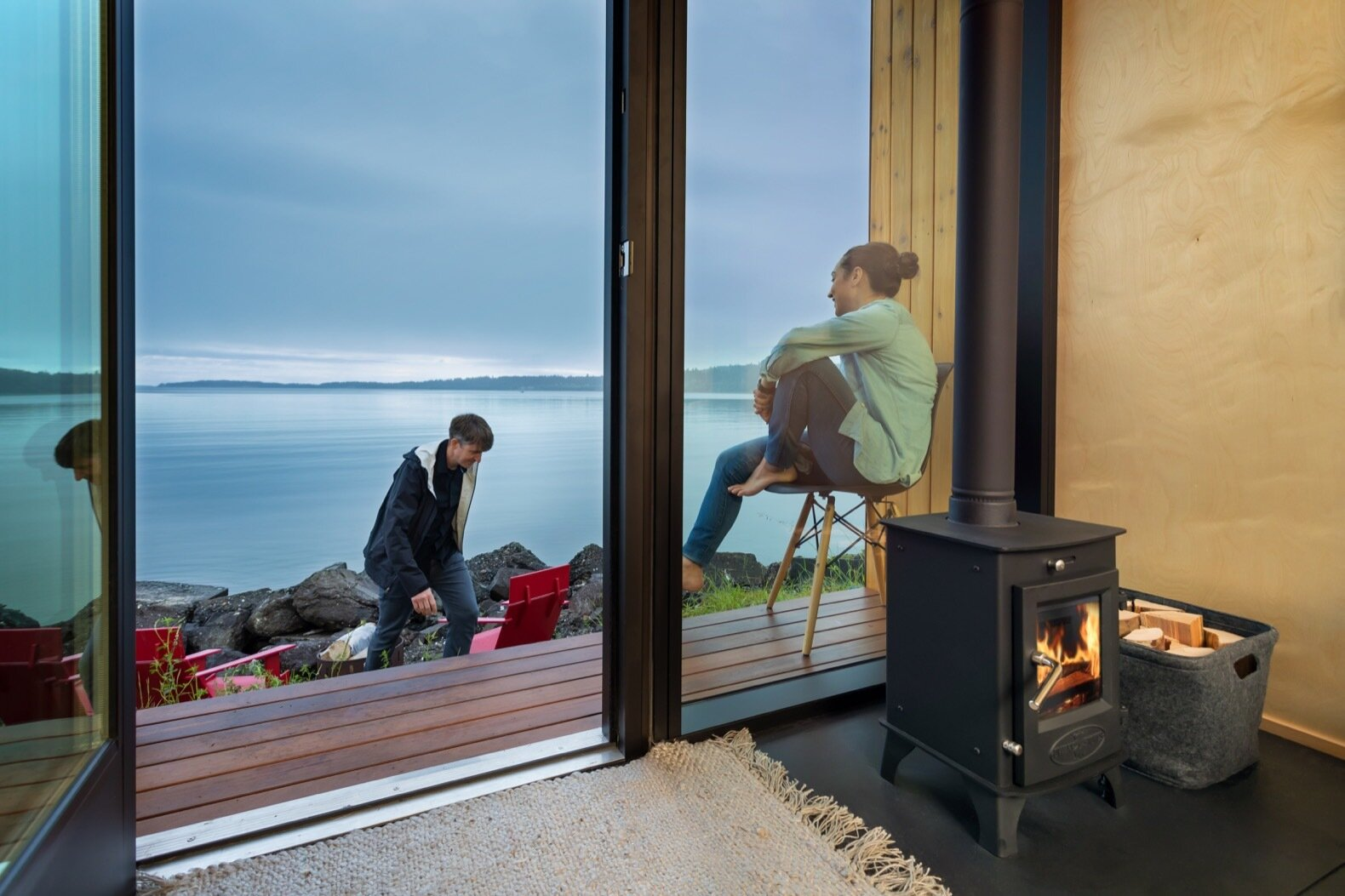 The DW by Modern Shed deck