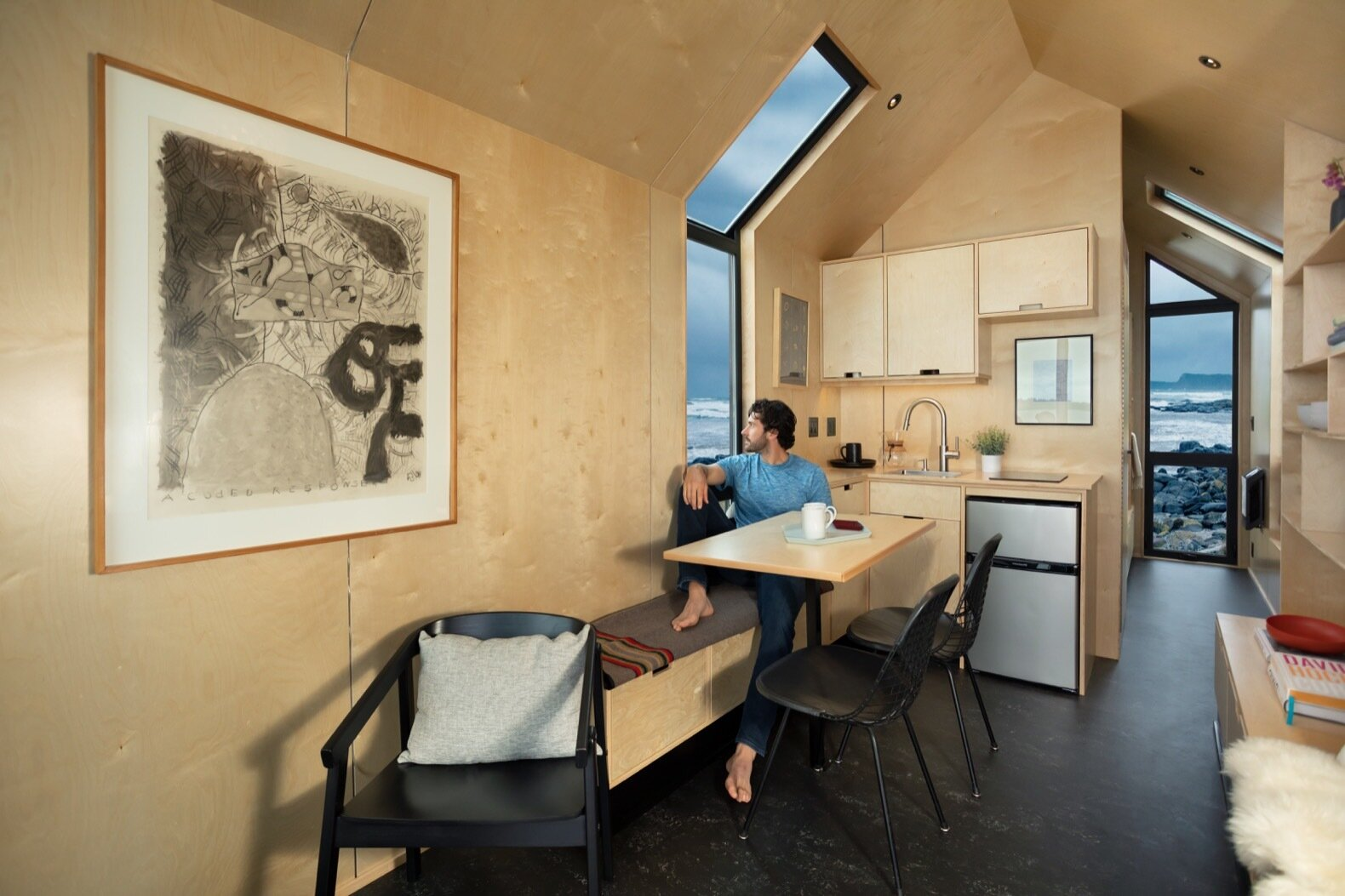 The DW by Modern Shed dining area