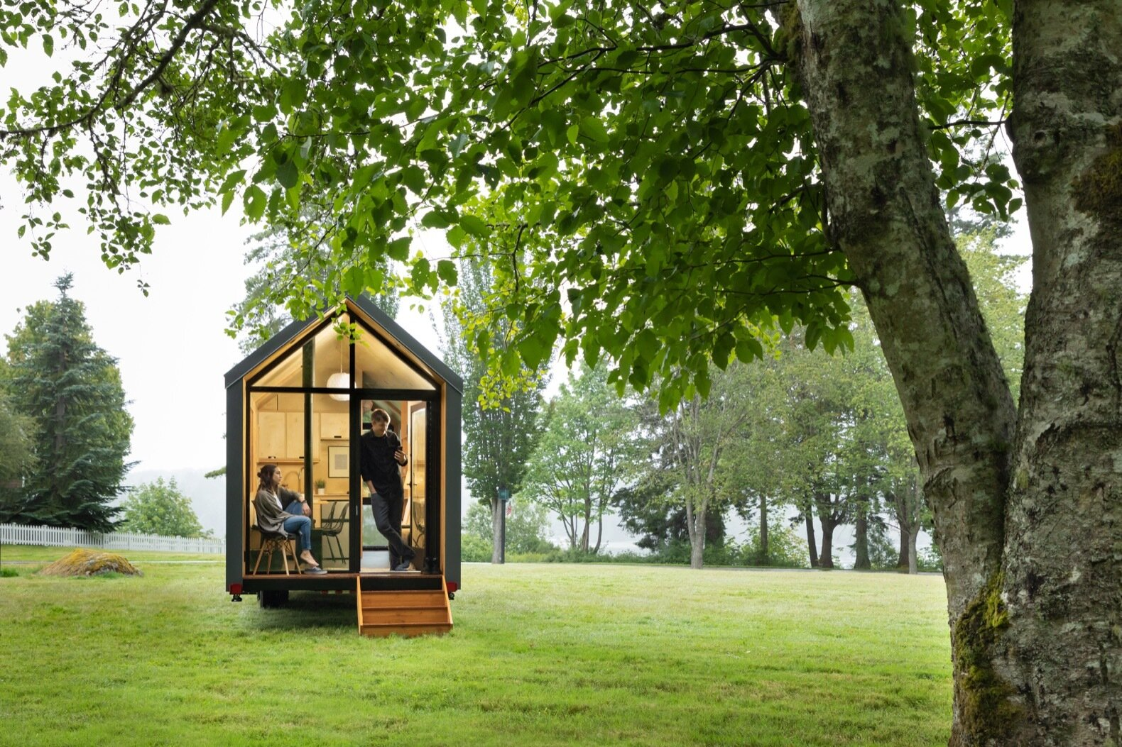 The DW by Modern Shed gable tiny house