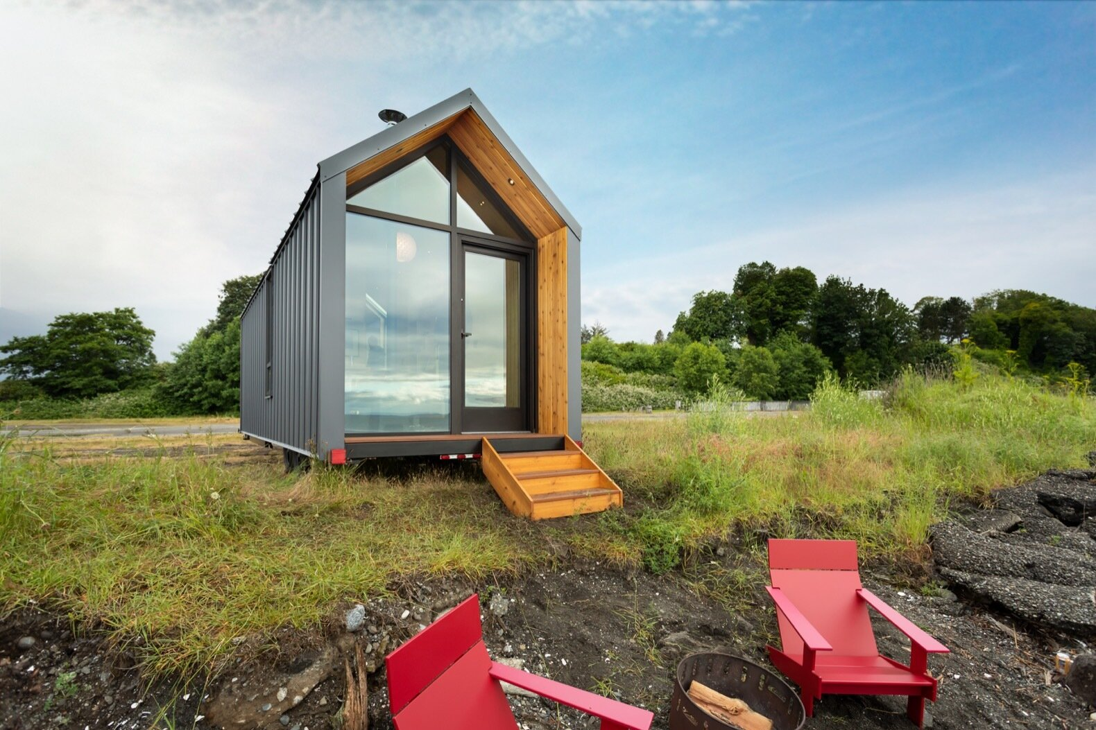 The DW by Modern Shed glass facade