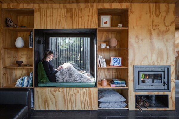 """The most comfortable and pleasant place in the house is the library nook, where you can lie down to read a book, have a coffee, or take a nap with the light and warmth of the sun coming through the window,"" says MAPA."