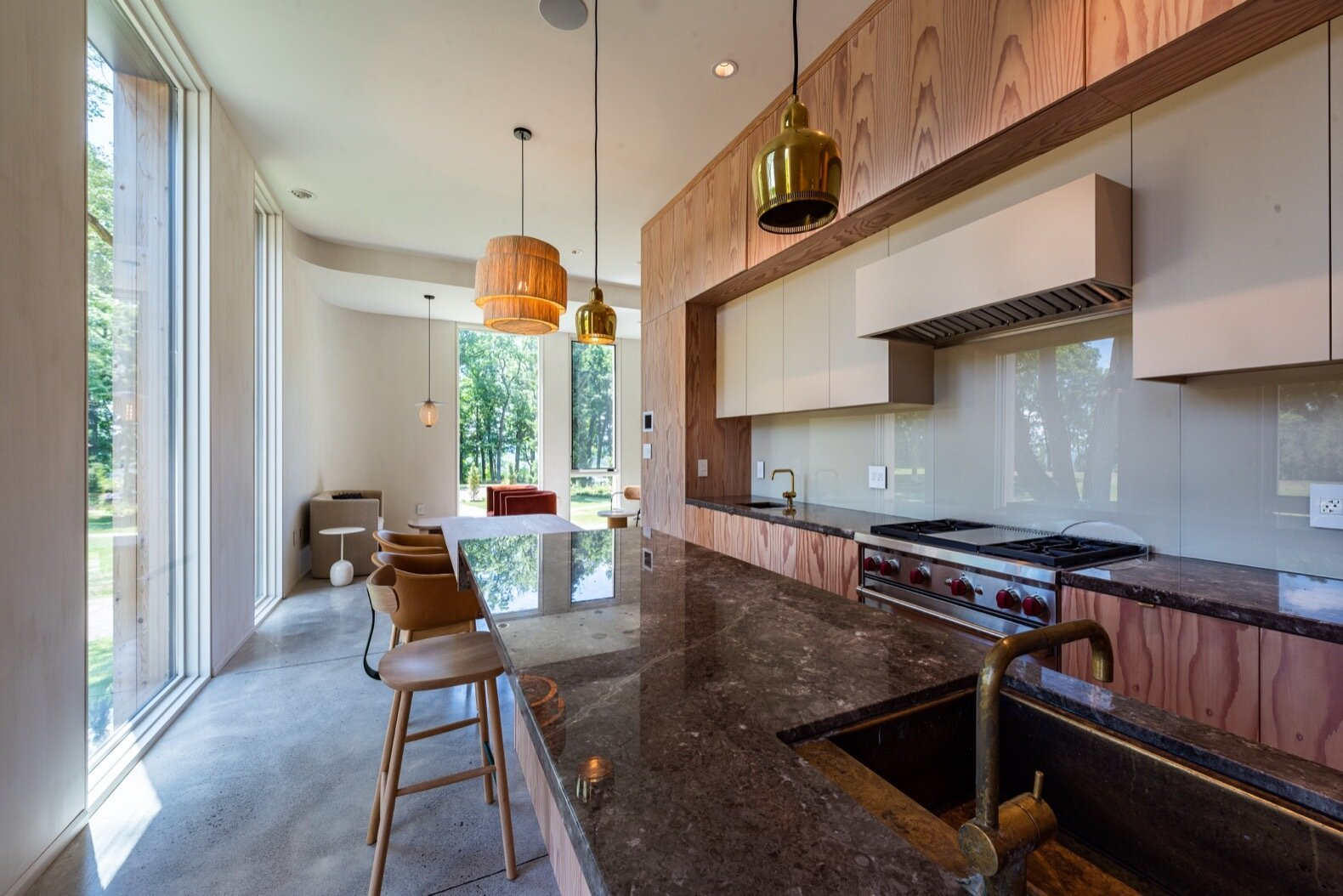 Fold House kitchen