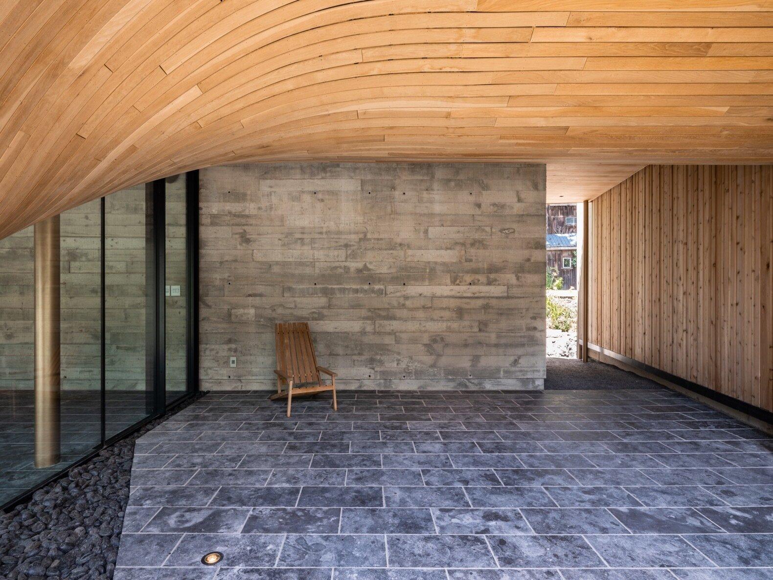 Fold House breezeway