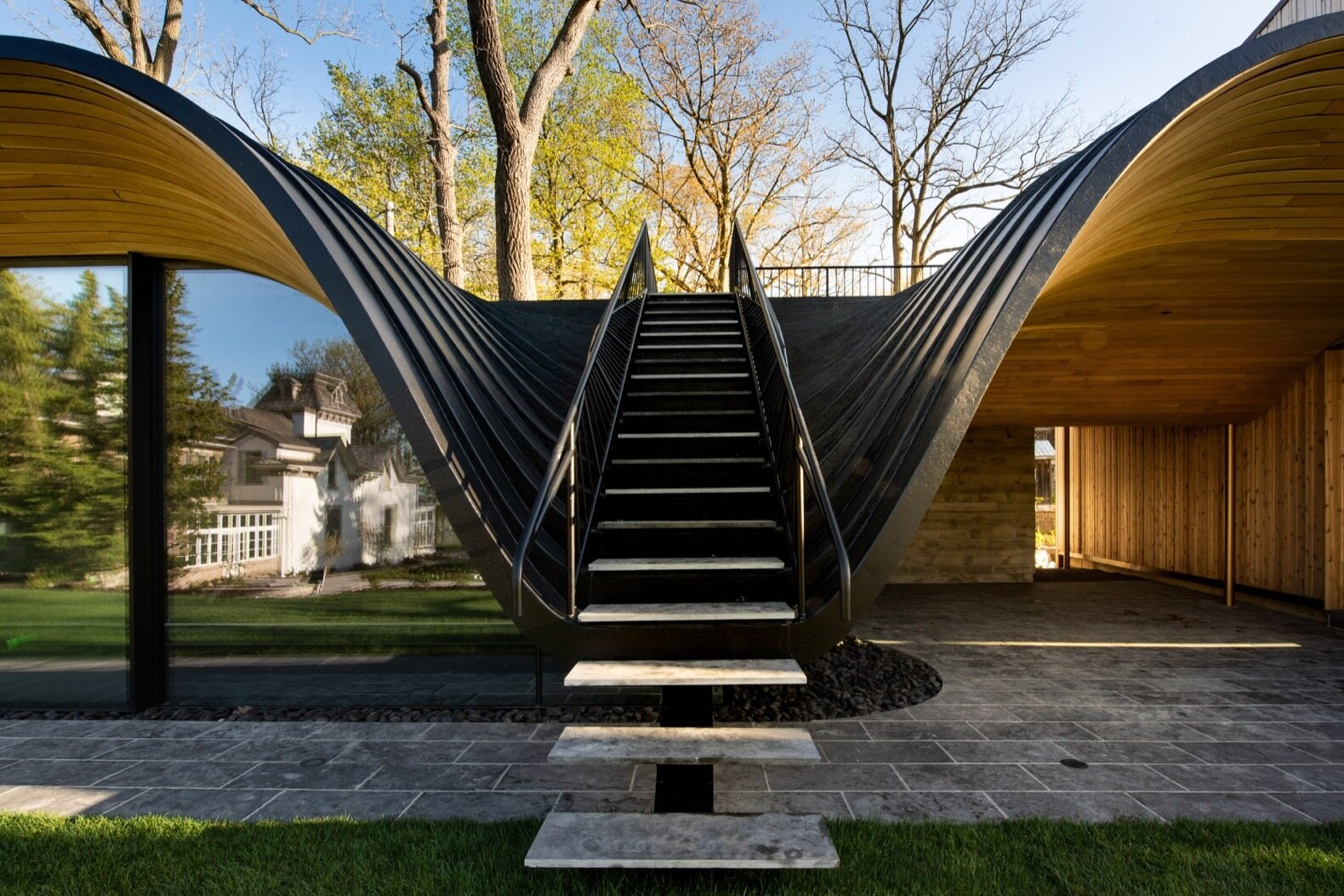 Fold House staircase