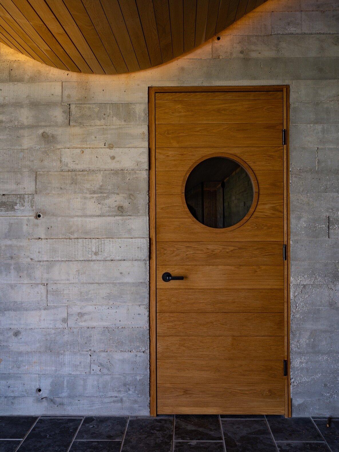 Fold House interior