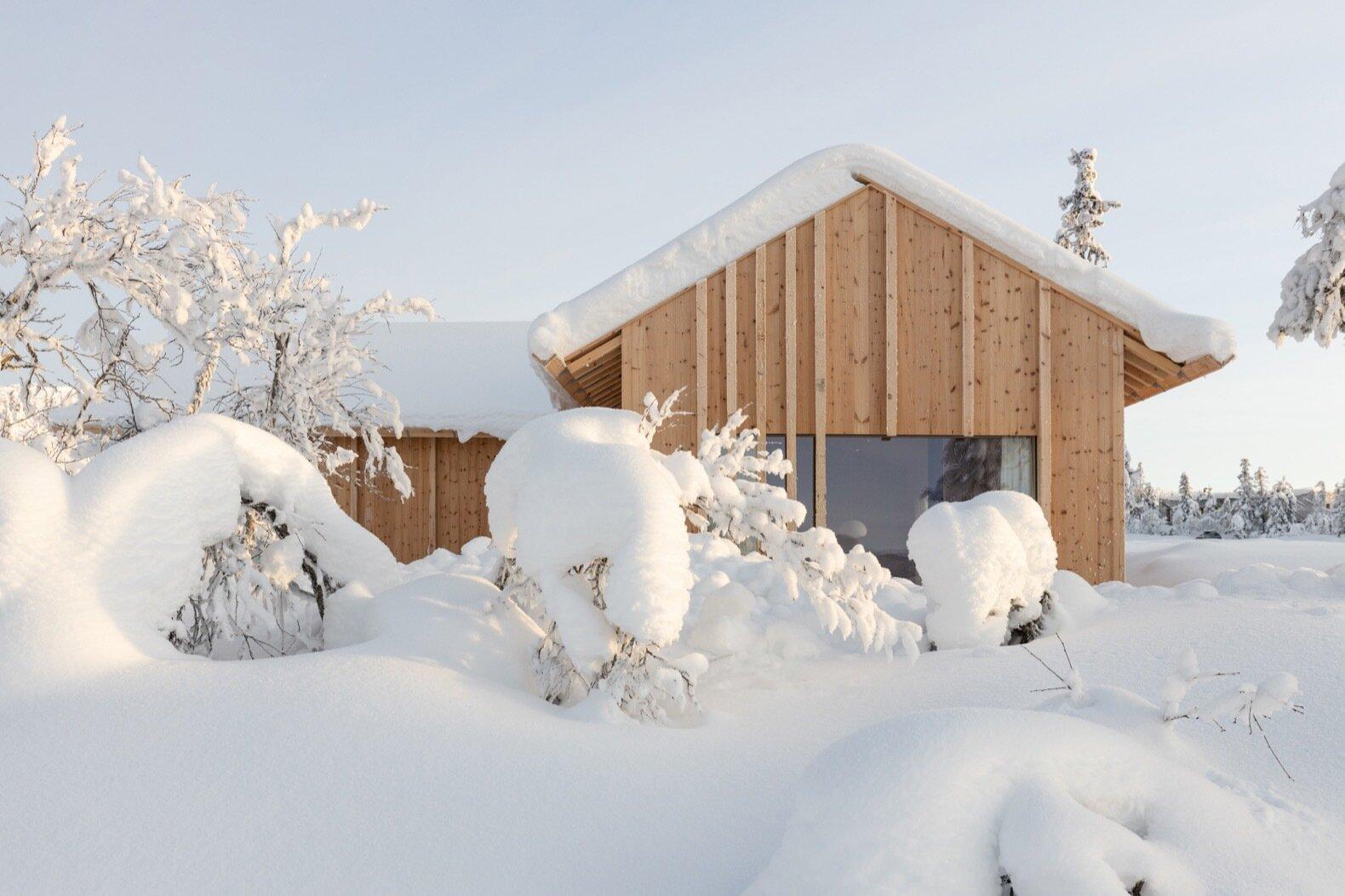 Kvitfjell Cabin exterior