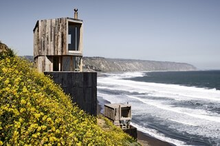 Soak Up the Surf at These Remote Timber Cabins on the Chilean Coast