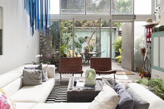 Art and Plant Filled Mexico City Abode
