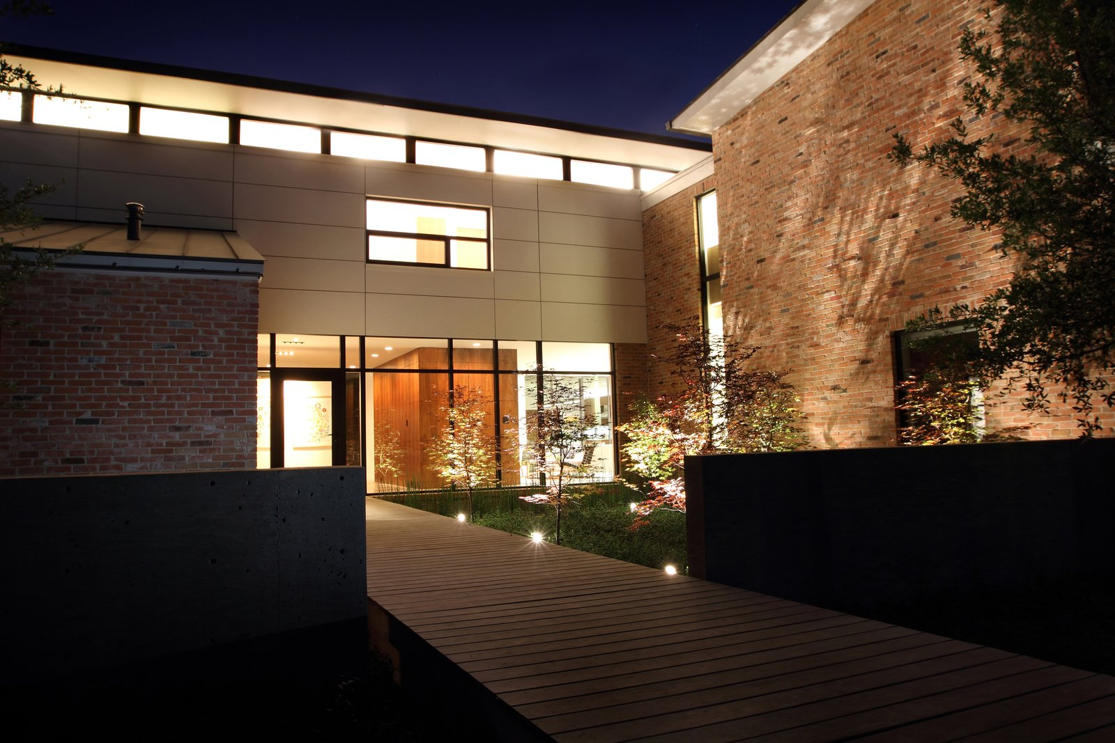 Before House Modern Home In Dallas Texas By David Benners
