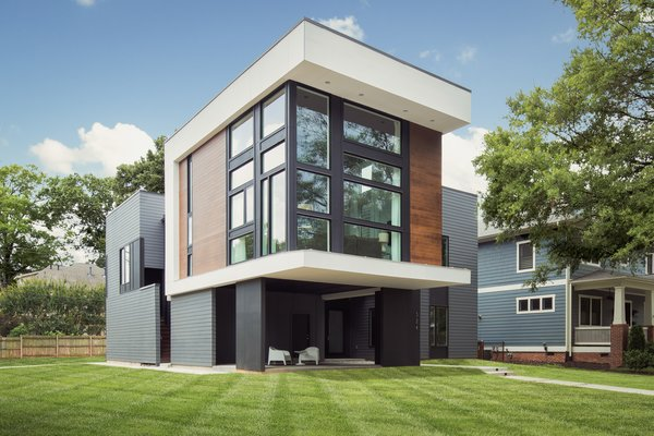 New Contemporary Home Harwich: Gillingham Strauss Residence Modern Home In Charlotte