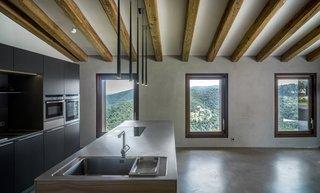 Open kitchen with views-VILLA CP