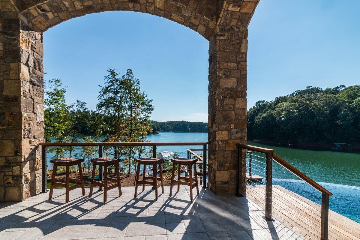 Photo 6 of 49 in Modern Mediterranean Lake House by Cobblestone ...