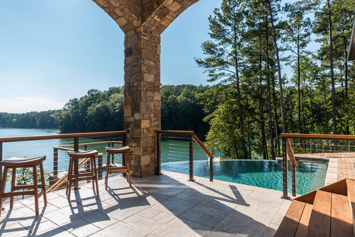 Modern Mediterranean Lake House
