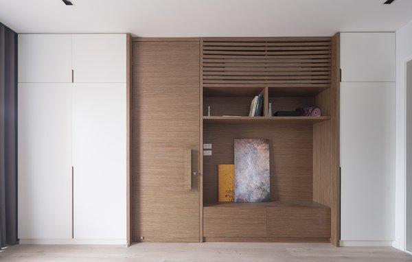 Wardrobe, door, TV unit