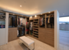 Modern home with Storage Room, Closet Storage Type, Cabinet Storage Type, and Shelves Storage Type. master closet Photo 8 of HLJH