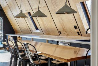 Live edge dining table / kitchen island by Timberforge Woodworks