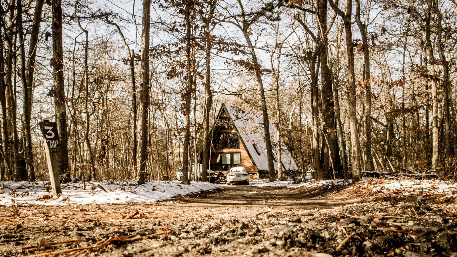 Exterior, House, Cabin, Small Home, Shingles, A-Frame, and Wood A-Frame Entrance and Facade  Best Exterior Cabin Small Home A-Frame Photos from Lokal A-Frame