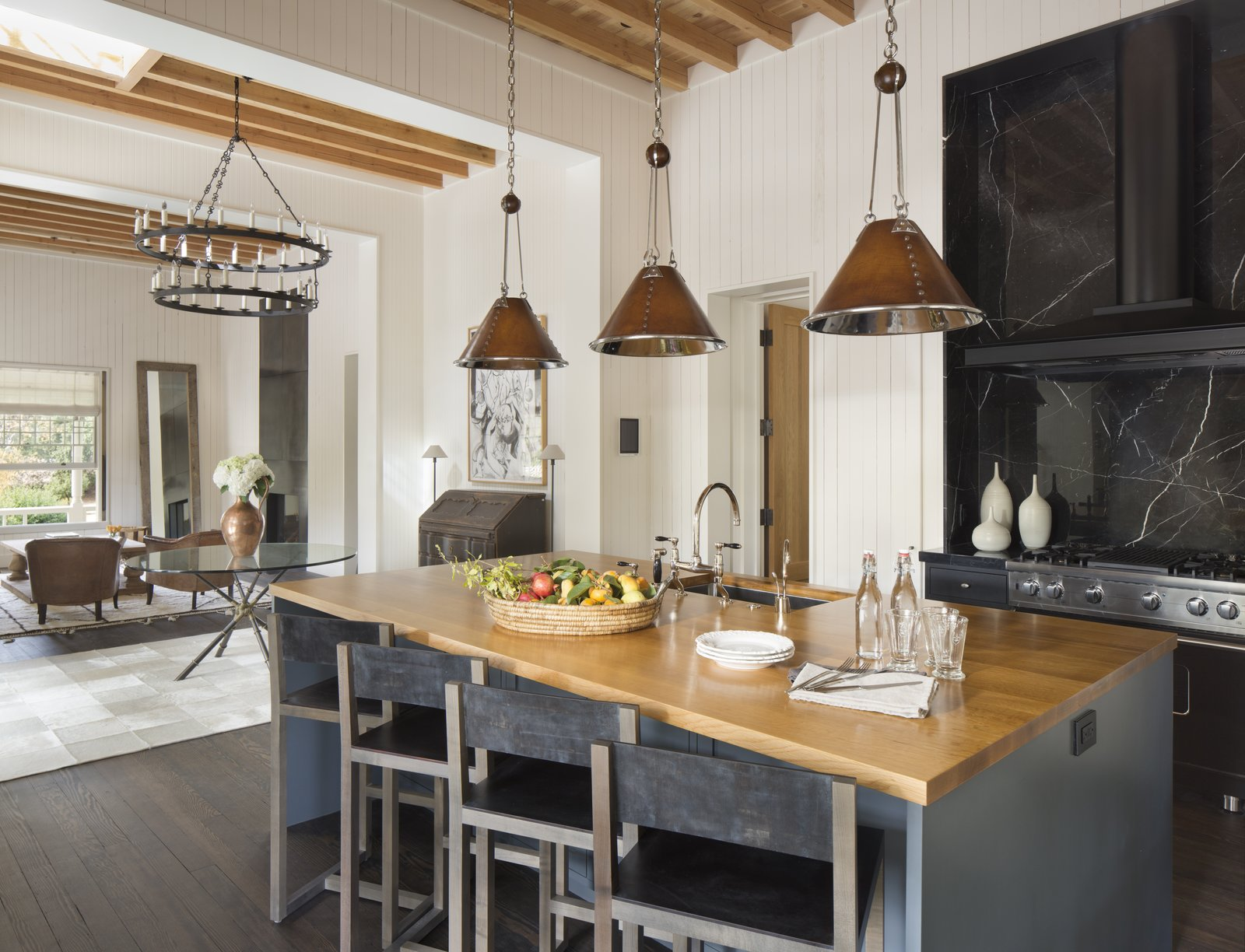 Kitchen Cole House  Cole House by Richard Beard Architects