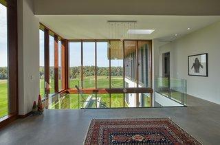 Glazed hallway