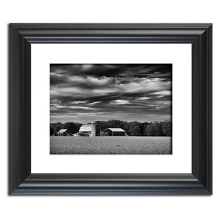 Red Barn in Golden Field Black and White Landscape Photography Wall Art Print  Print Options: This photograph is available on a variety of print media types in a variety of sizes to fit your decorating needs. We also carry limited edition signed collector prints. For more information on this and other beautiful landscape photographs please visit www.pipafineart.com   About Product: Traditional prints are reproductions of our landscape photographs. Reproductions are printed on high quality luster photo paper with high quality ink. These prints have a life expectancy of about 50 years (depending on the care). These landscape photo prints are perfect for decorating any room in your home or office with fabulous wall art.  About this Photograph: Red Barn in Golden Field is a bold black and white rural landscape photograph of a beautiful red barn in the center of a golden field of dried crops. This photograph was created near the rural town Middletown Delaware in the early morning hours of the fall season. This image is also available in color, a vintage black and white and colorized effect versions.  Title: Red Barn in Golden Field Black and White Landscape Photographer: Melissa Fague Genre: Landscape Photography Item ID#: LAND-0020-BW