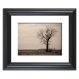 Lonely Tree Landscape Photo Wall Art Print  Print Options: This photograph is available on a variety of print media types in a variety of sizes to fit your decorating needs. We also carry limited edition signed collector prints. For more information on this and other beautiful landscape photographs please visit www.pipafineart.com   About Product: Traditional prints are reproductions of our landscape photographs. Reproductions are printed on high quality luster photo paper with high quality ink. These prints have a life expectancy of about 50 years (depending on the care). These landscape photo prints are perfect for decorating any room in your home or office with fabulous wall art.  About this Photograph: Lonely Tree is a calm sepia landscape photograph that was created in a barren field of Middletown, Delaware during the winter season. This photograph was aged and a grain effect was added using Photoshop in post-production for emotional appeal.  Title: Lonely Tree Landscape Photographer: Melissa Fague Genre: Landscape Photography Item ID#: LAND-0107