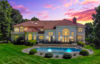 Modern home with Exterior, House Building Type, and Shingles Roof Material. In this entertainer's house, it is the perfect pool for summer fun Photo 2 of Prestigious  European-Inspired Mansion Just Outside NYC