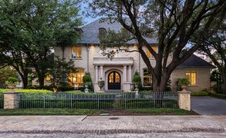 French-Inspired Estate in Heart of the Most Sought After Enclave in Dallas
