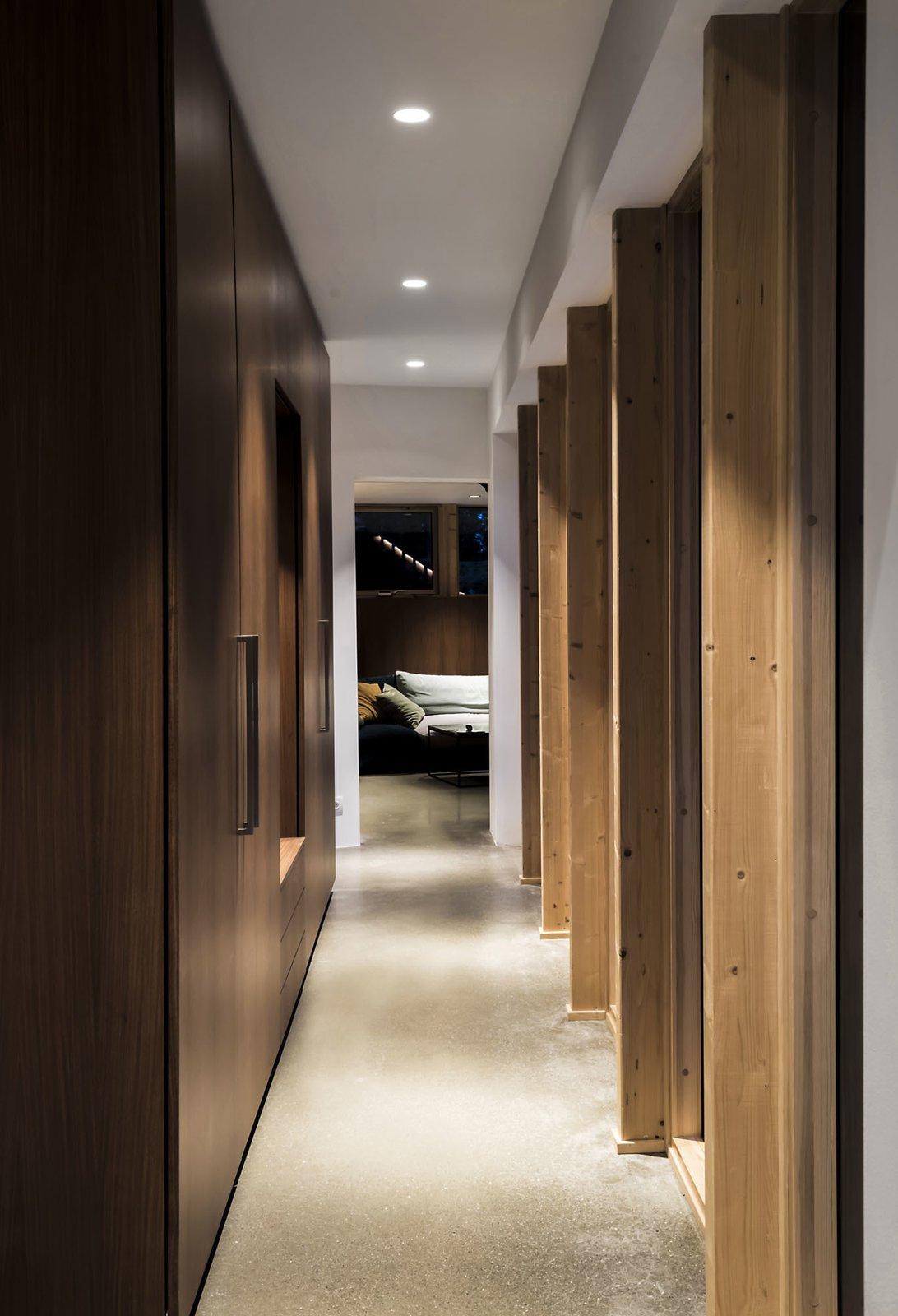 Storage Room and Closet Storage Type iconic passage  Woodland house