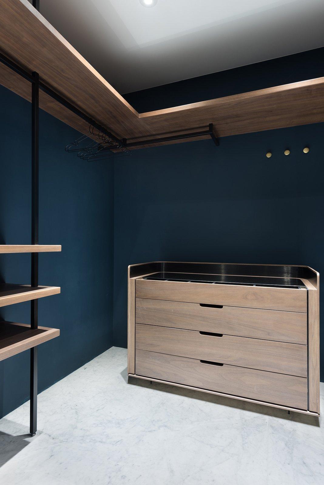 Bedroom Master Bedroom Walking Closet  Residence C.A. by W&Li Design