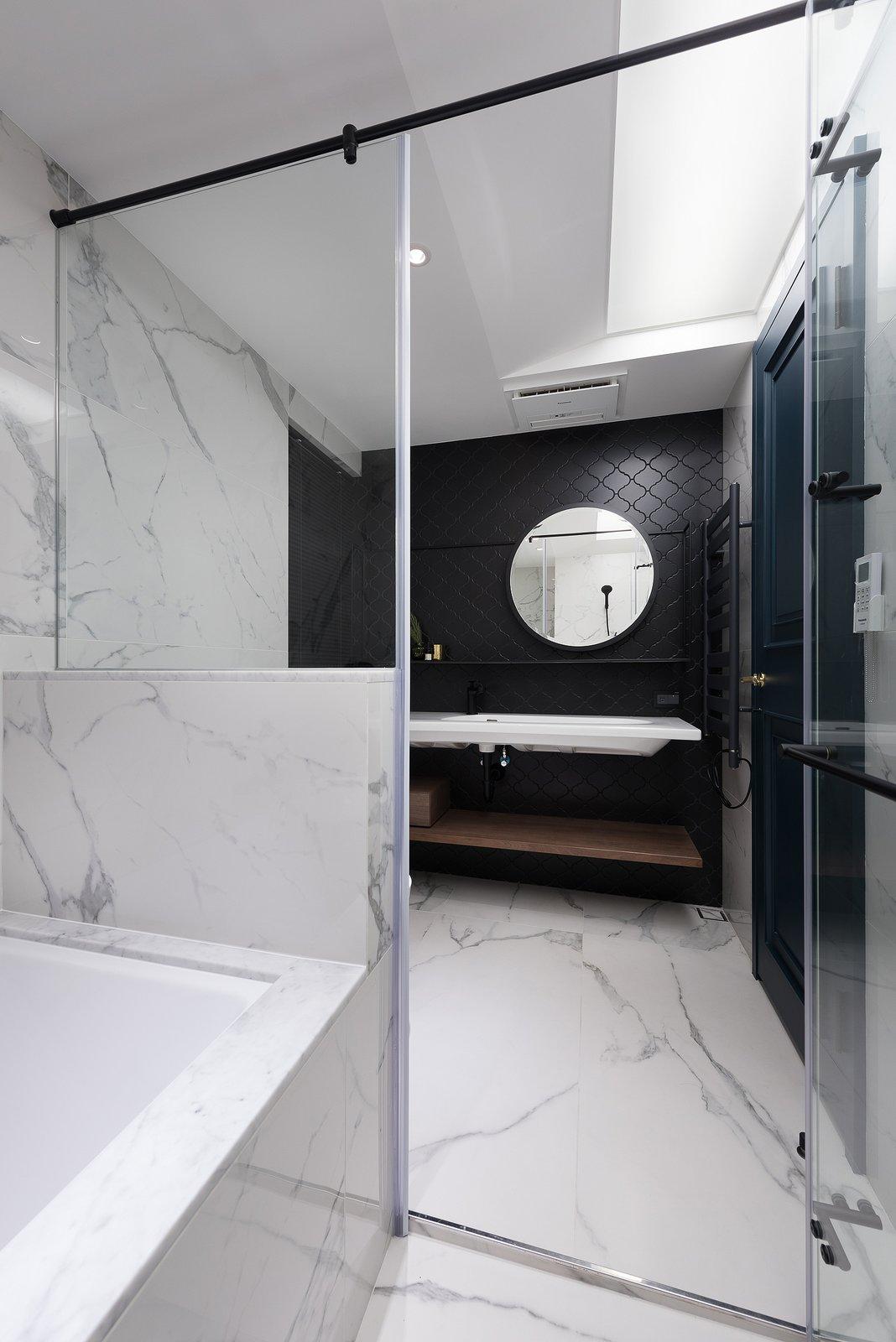 Bath Room Master Bedroom Bathroom  Residence C.A. by W&Li Design
