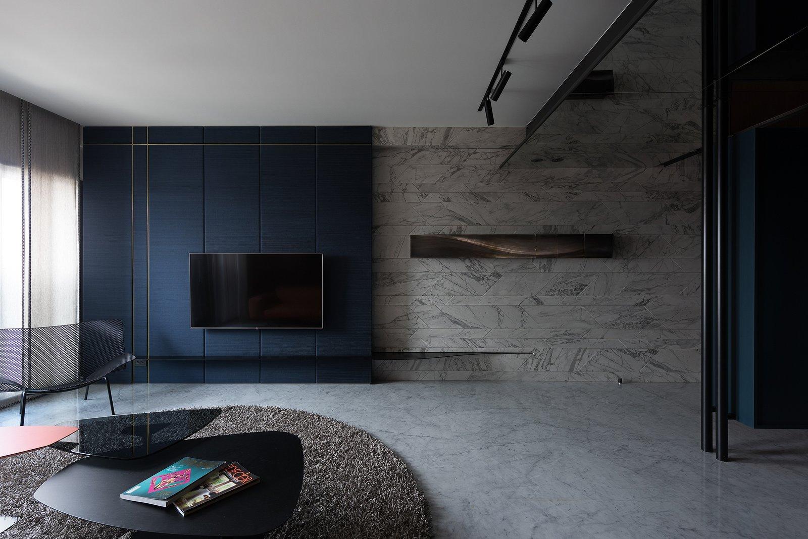 Living Room Living Room  Residence C.A. by W&Li Design