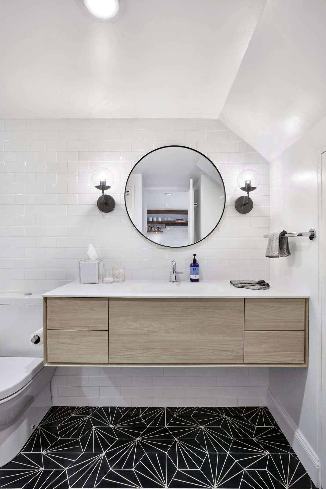 Bath Room Toilet by Duravit  4th Ave./Union Square Apartment