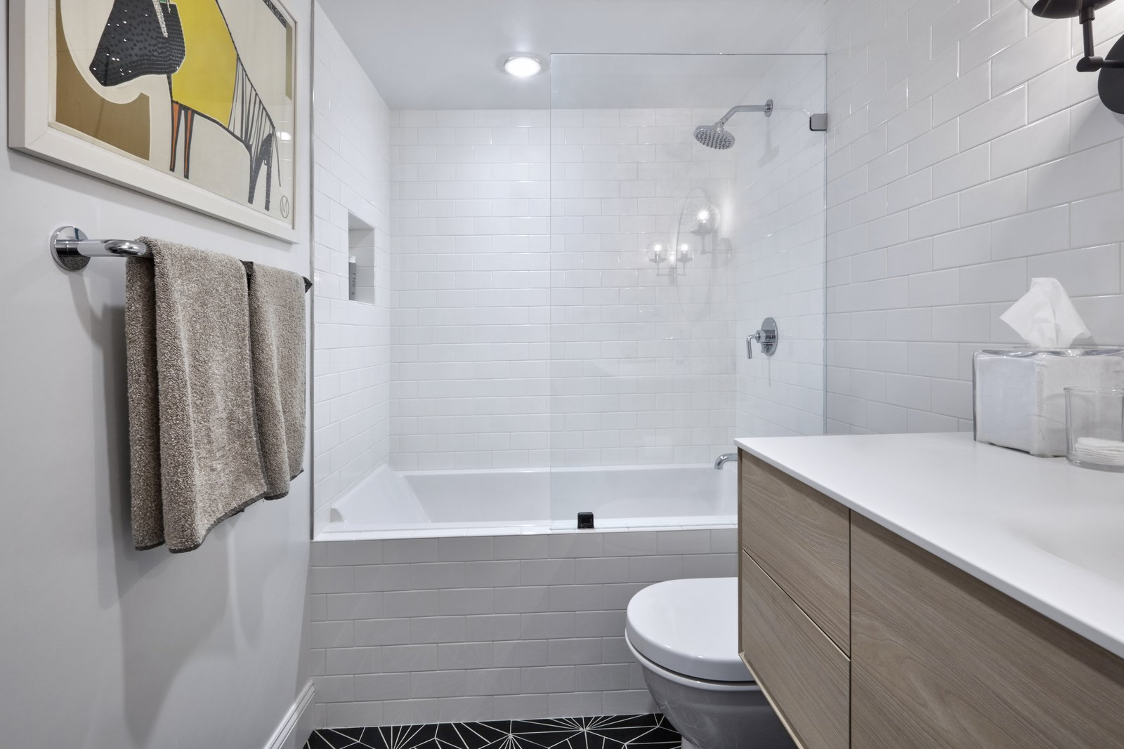 Bath Room Plumbing Accessories by Waterworks Lighting by Schoolhouse Electric  4th Ave./Union Square Apartment