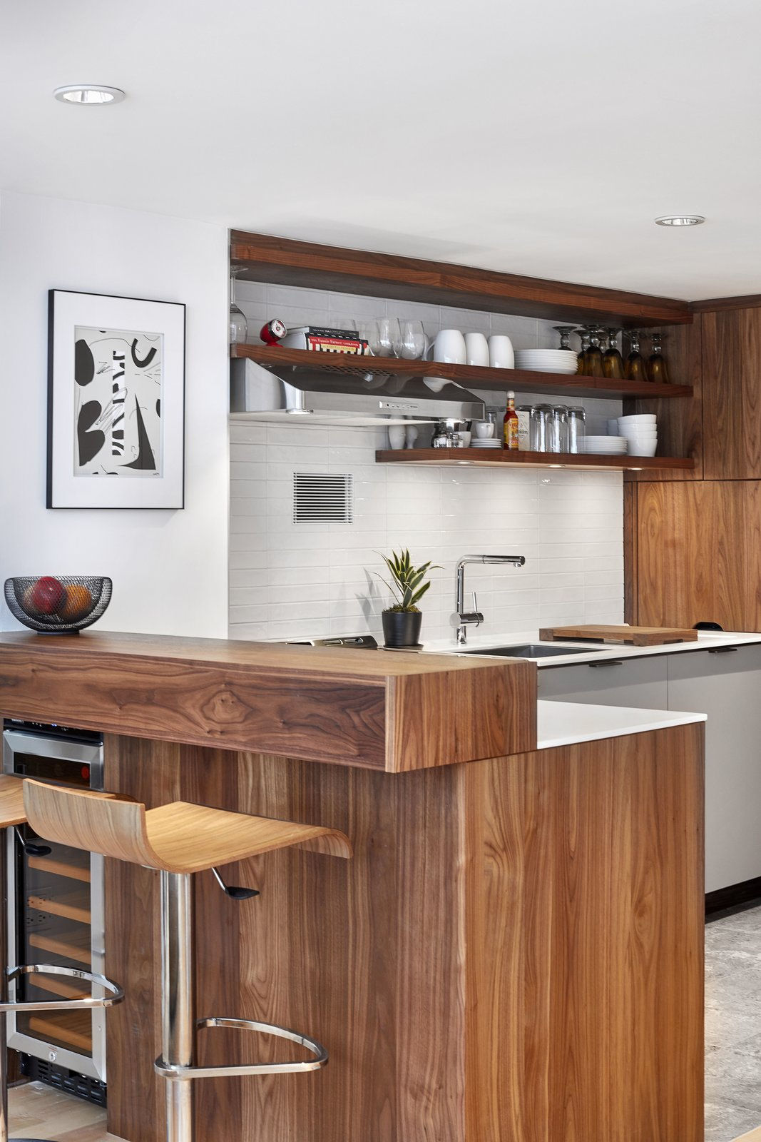 Kitchen Custom cabinetry by Henrybuilt  4th Ave./Union Square Apartment