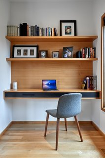 The mental effects from physically dividing your living and work spaces can help you focus when needed, and most importantly, step away to relax when finished.